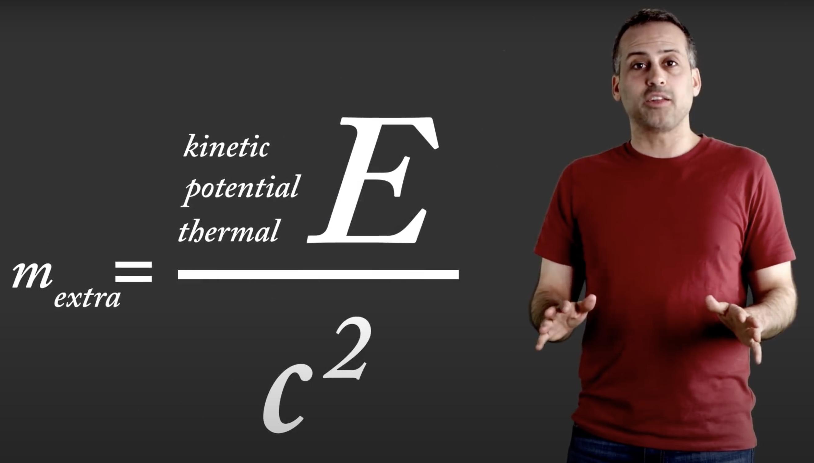 *English* E=mc^2 (video)