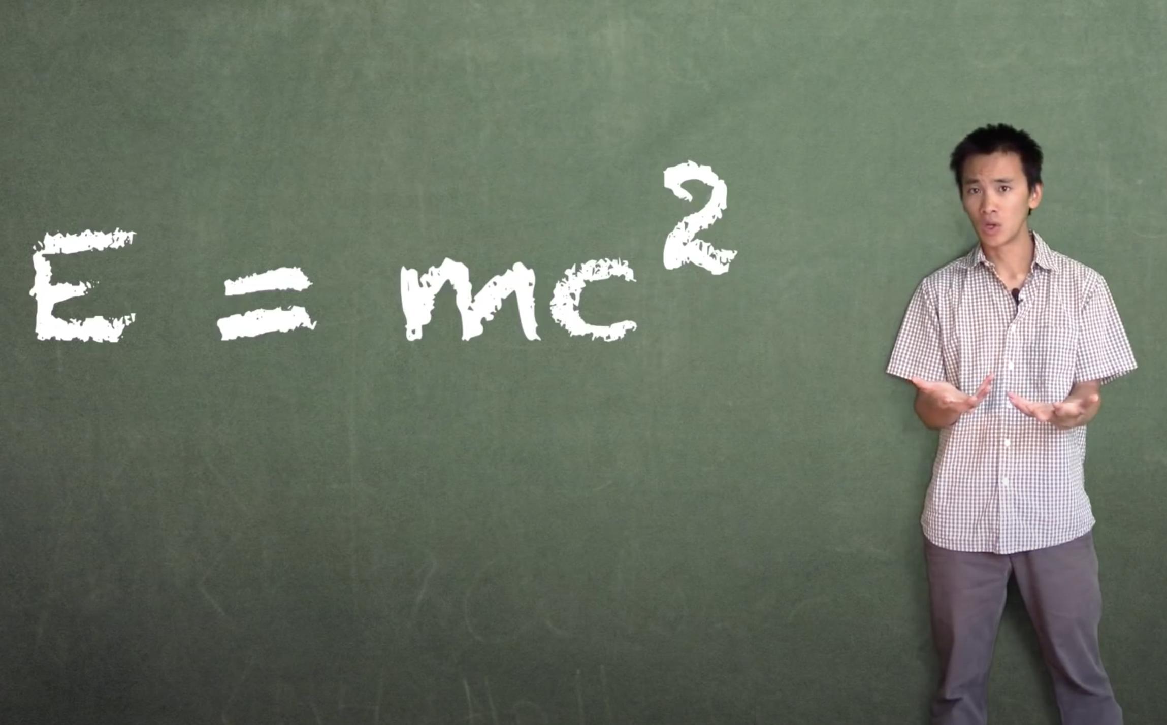 E=mc^2 (vidéo)