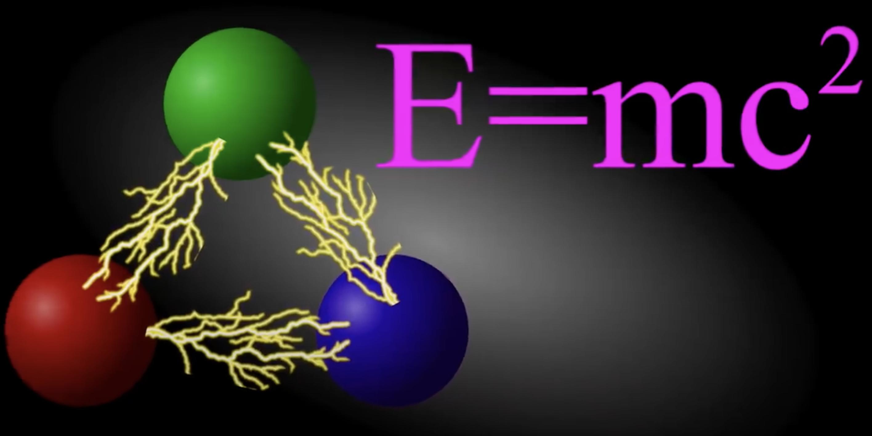 E=mc^2 -- qu'est-ce que la masse ? (vidéo)