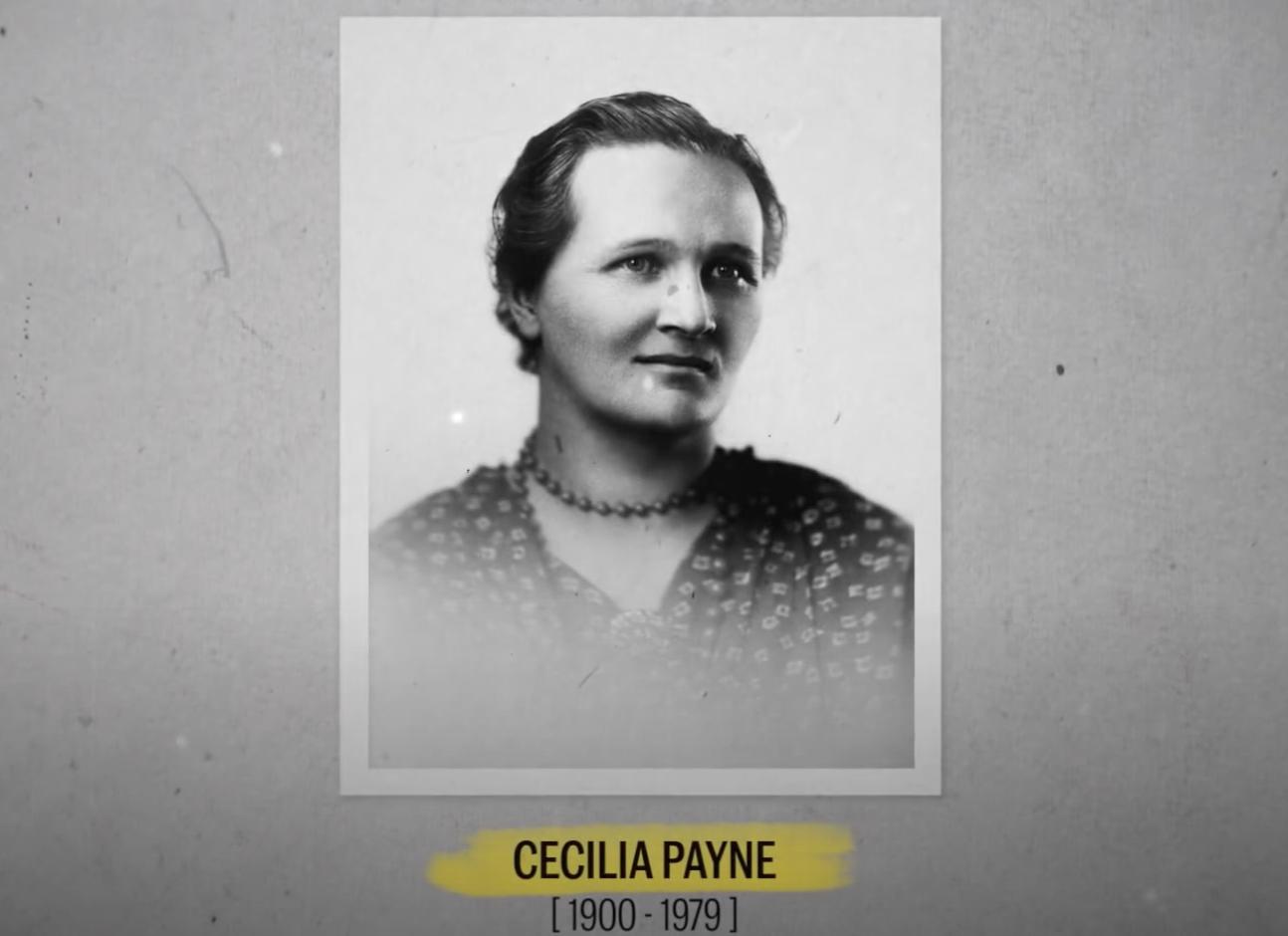 Cécilia Payne et la spectroscopie (vidéo)