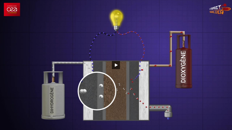 Electrolyseur et pile à combustible (vidéo)