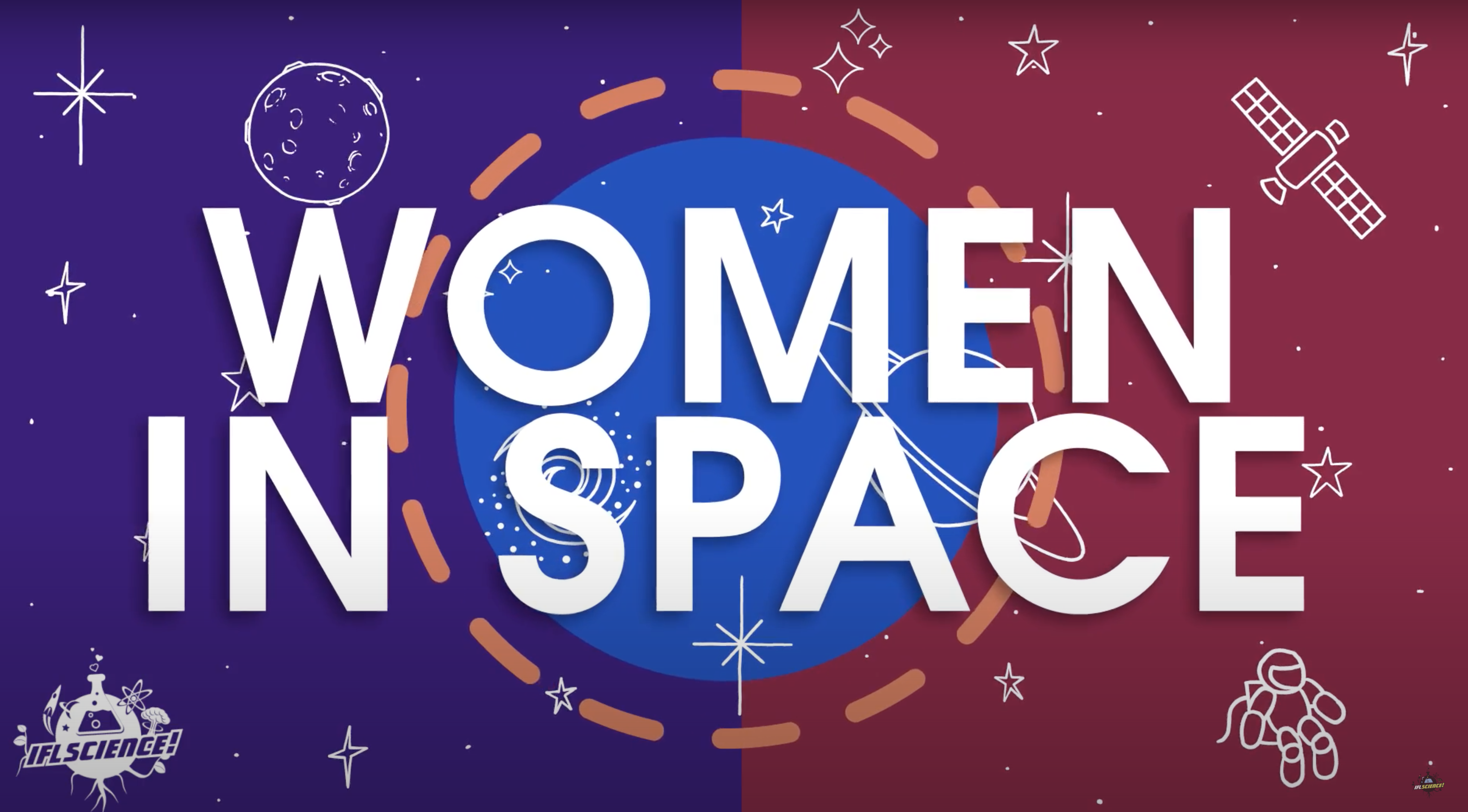 *English* Women in space (video)