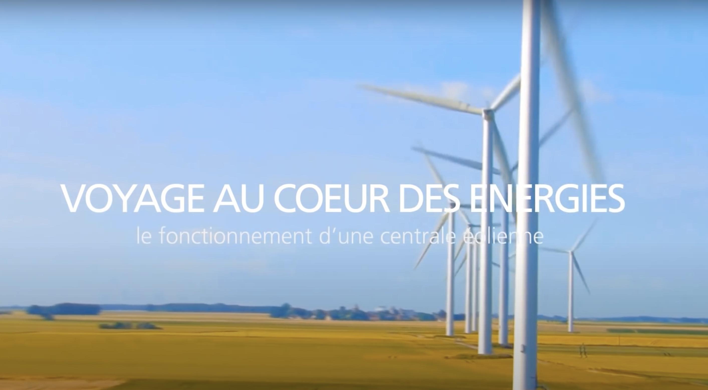 Fonctionnement d'une éolienne (vidéo)
