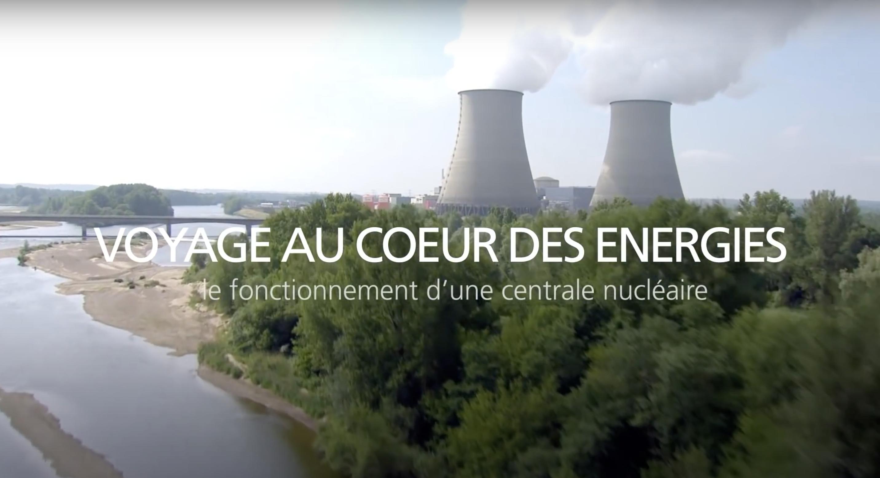 Fonctionnement d'une centrale nucléaire (vidéo)
