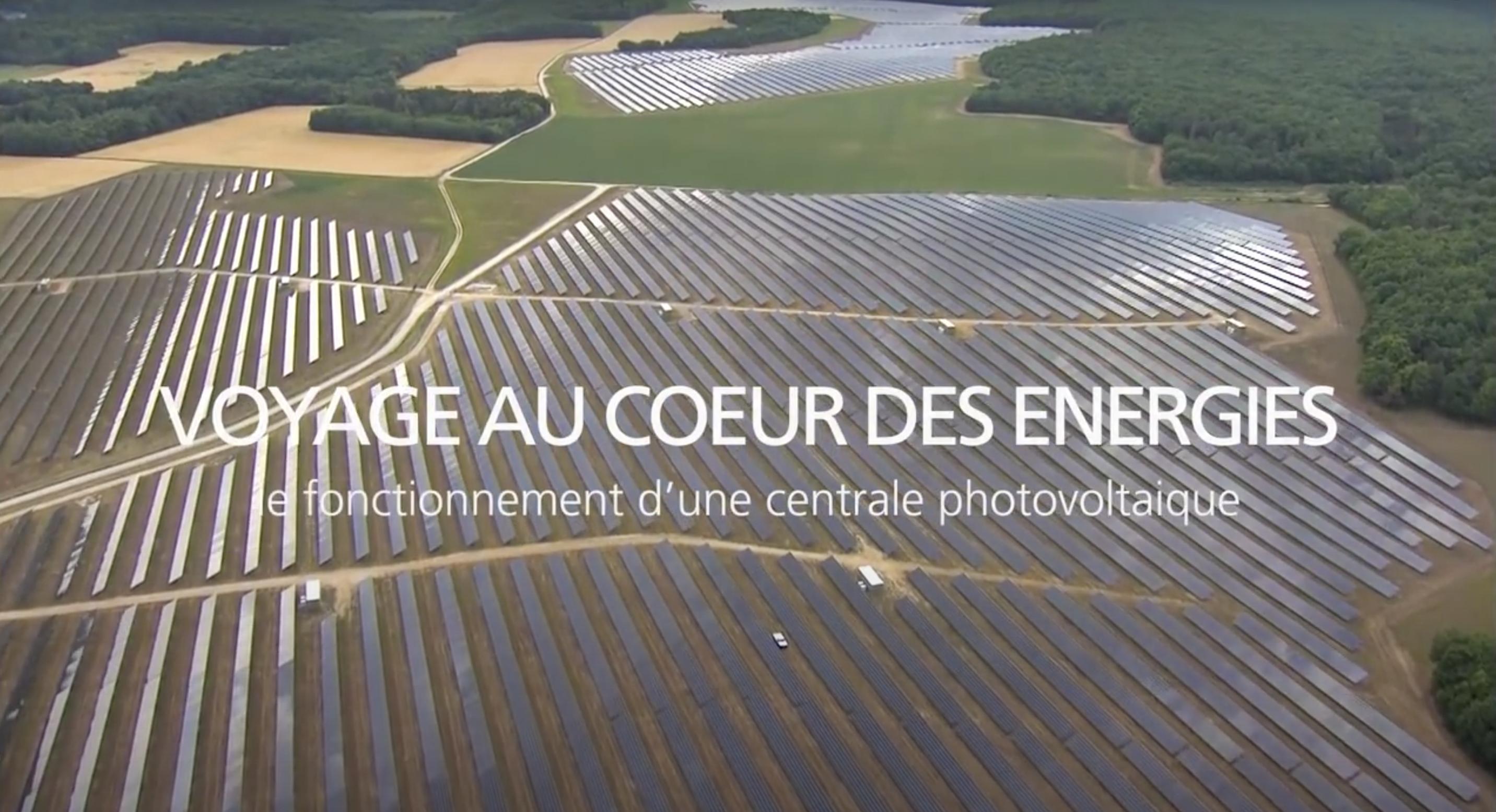 Fonctionnement d'une centrale photovoltaïque (vidéo)