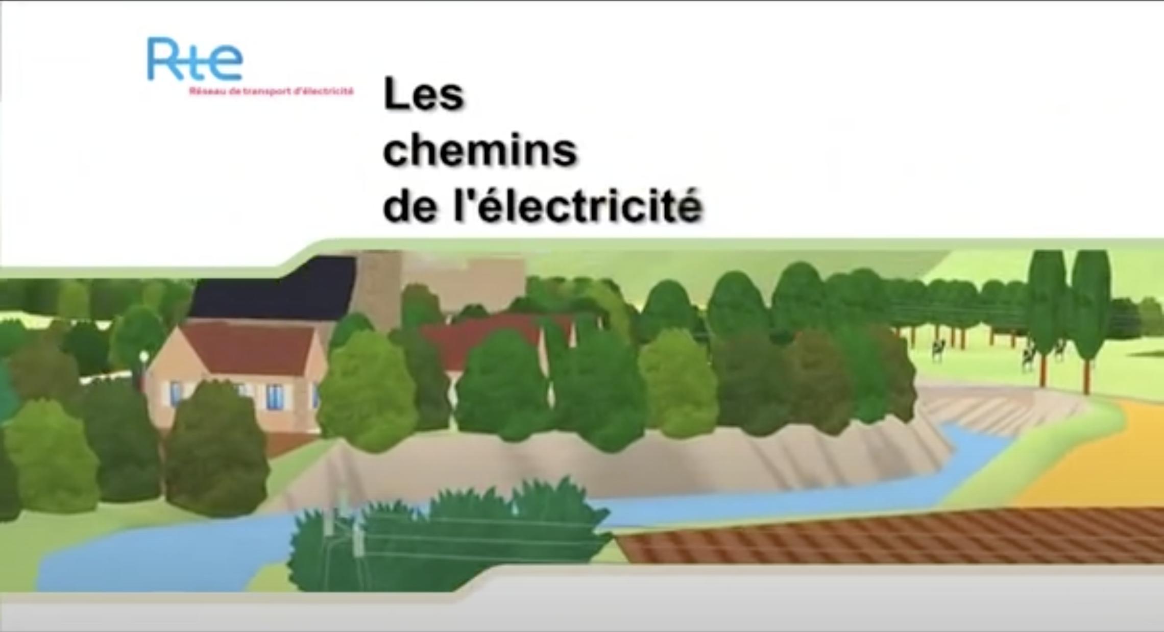 Les chemins de l'électricité (vidéo)