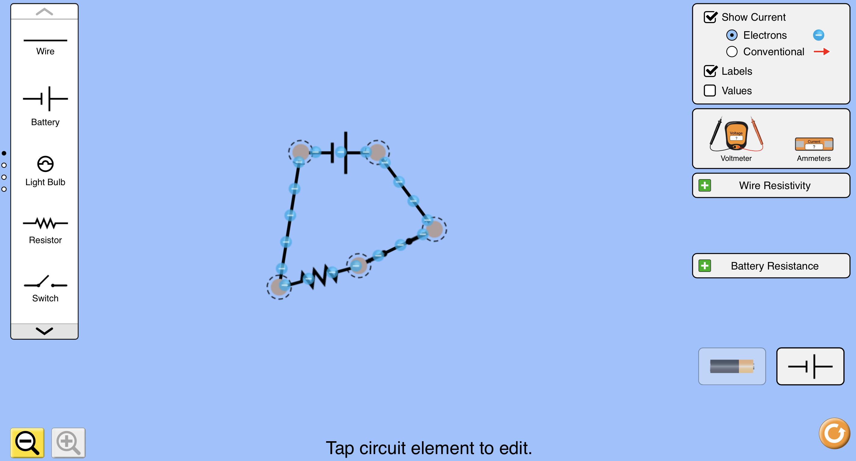 Construire un circuit électrique