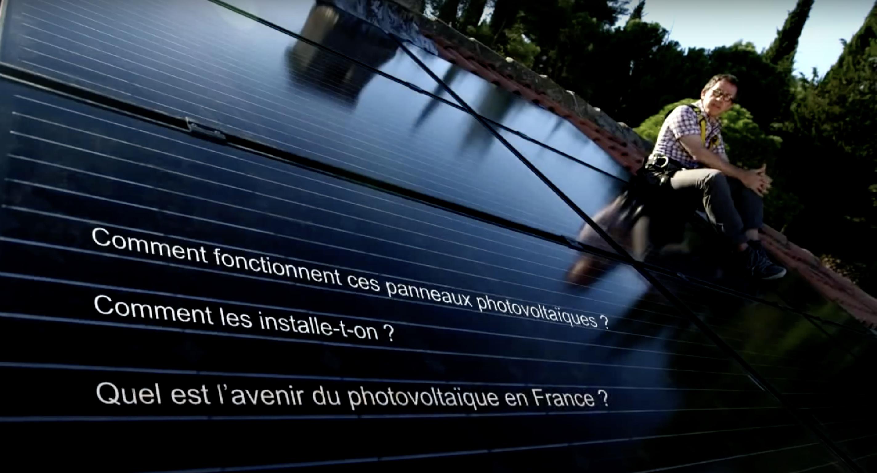 Jamy présente le photovoltaïque (vidéo)