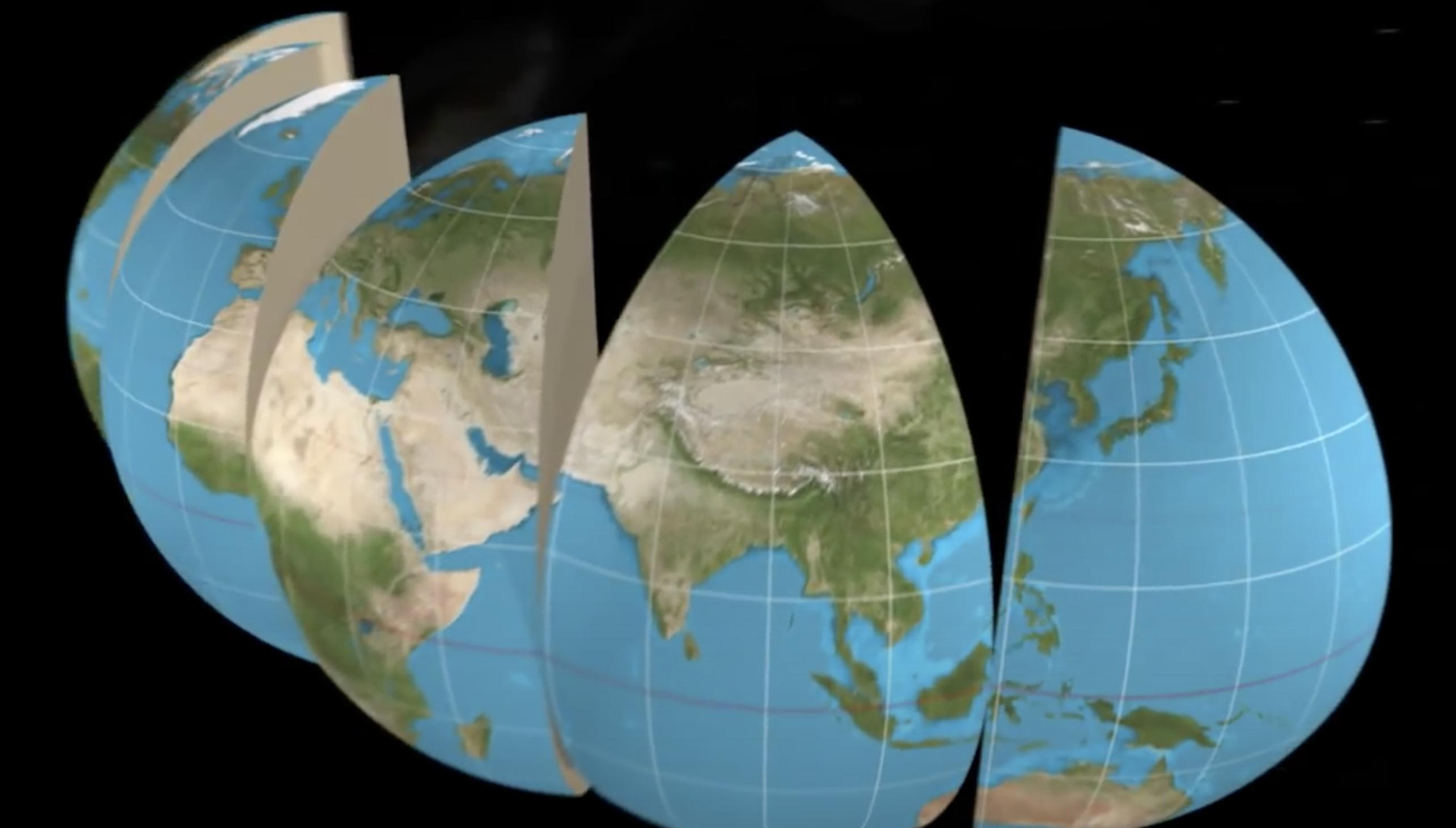 Projection de Mercator (vidéo)