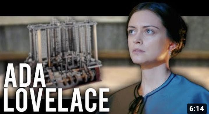 La pionnière de l'informatique - ADA LOVELACE ET LA MACHINE ANALYTIQUE (vidéo)